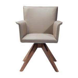 Beżowe krzesło Kare Design Foxy