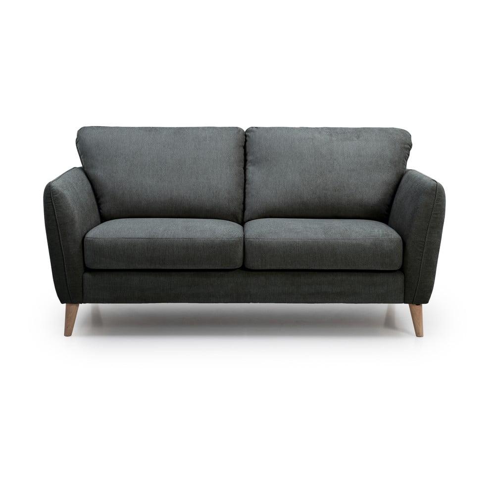 Antracytowoszara sofa 2-osobowa Softnord Paris