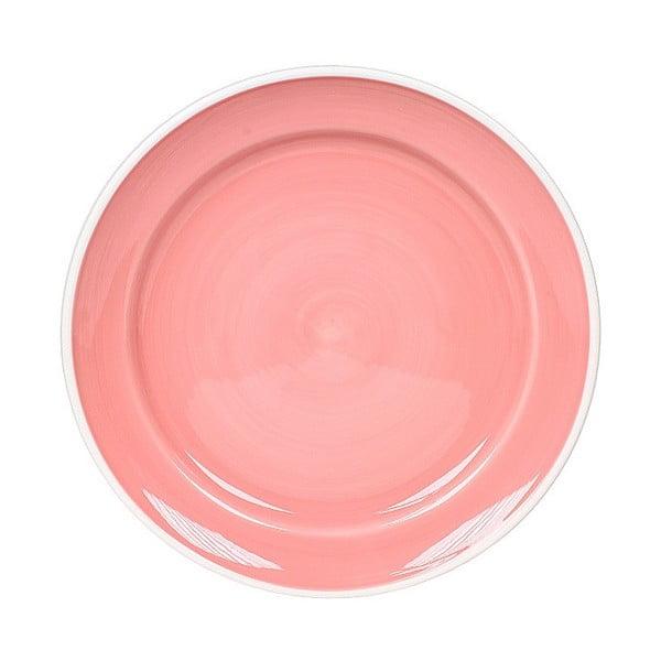 Talerz ceramiczny Marikere Pink, 26.5 cm