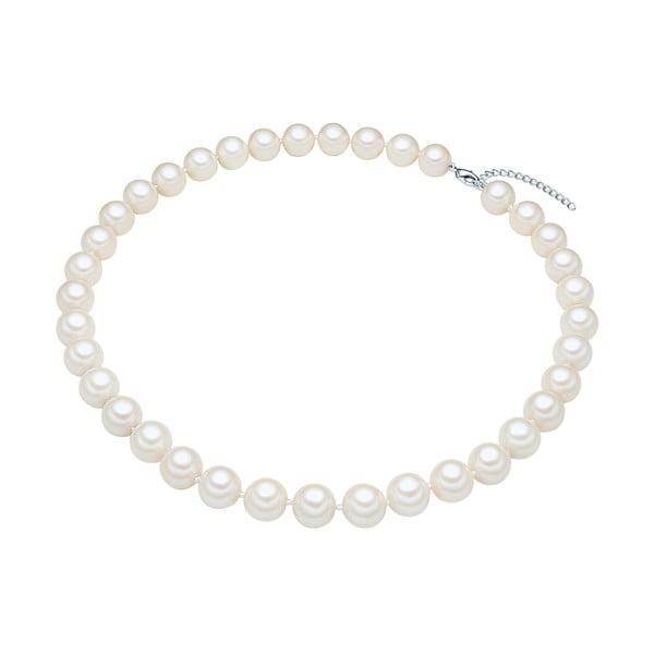 Perłowy naszyjnik Muschel, białe perły 12 mm, długość 50 cm
