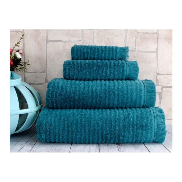 Ciemnoniebieski ręcznik Irya Home Superior, 50x90 cm
