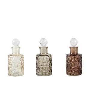 Zestaw 3 butelek z zatyczką KJ Collection