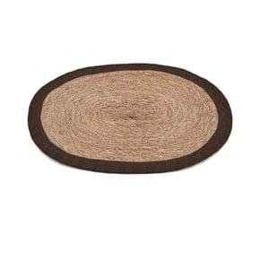 Mata stołowa z brązowym brzegiem Moycor Jute, 35x45 cm