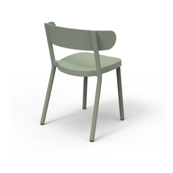 Zestaw 2 jasnozielonych krzeseł ogrodowych Resol casino