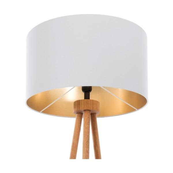 Lampa stojąca Gold Inside Gray