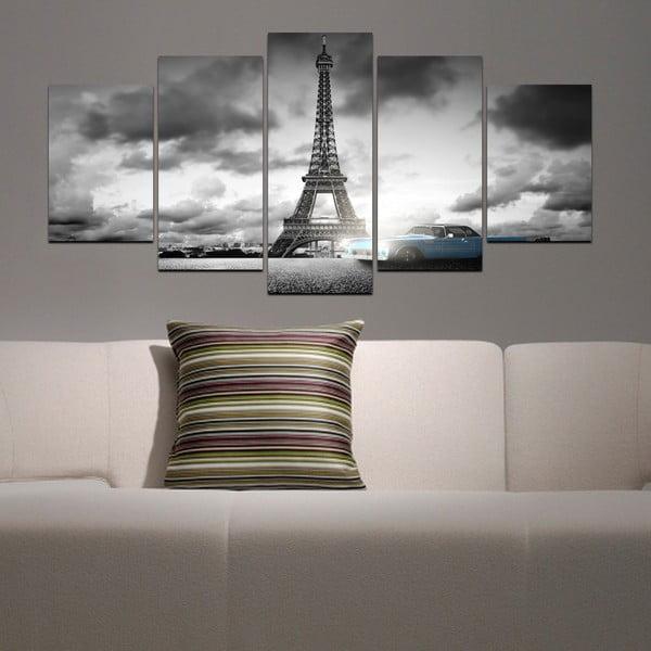 Wieloczęściowy obraz Black&White no. 66, 100x50 cm