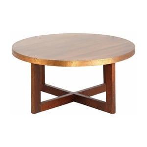 Stolik z drewna mangowego Støraa Bindu, średnica75cm
