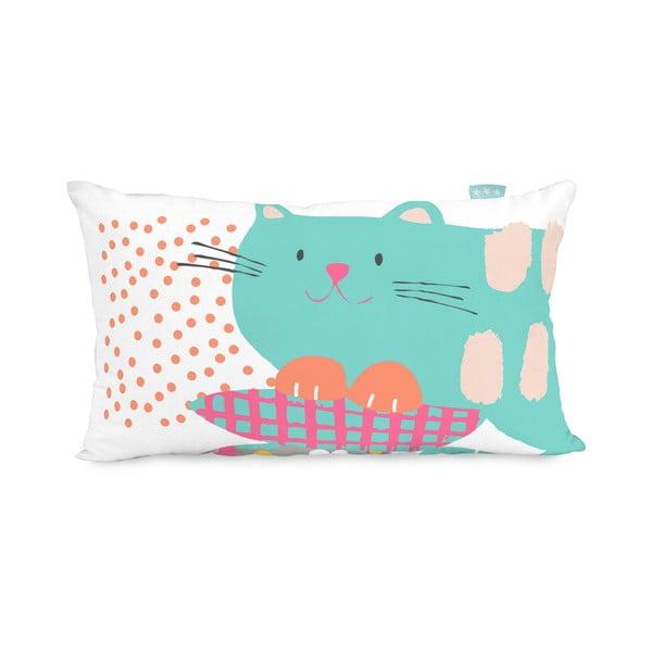 Dwustronna poszewka na poduszkę Moshi Moshi Cat&Mouse, 50x30 cm
