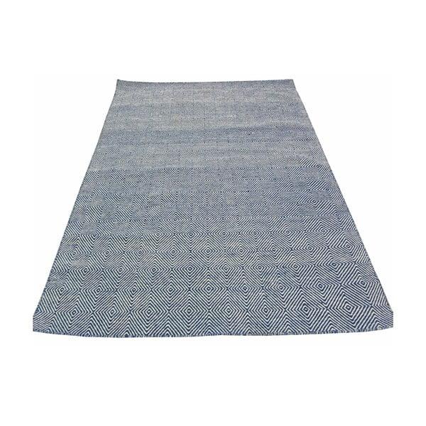 Ręcznie tkany dywan Kilim Dimond Blue, 160x230 cm