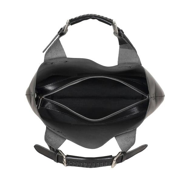 Skórzana torebka Everyday Italia, czarna