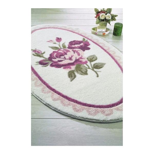 Różowy dywanik łazienkowy Confetti Bathmats Rosa, 66x107 cm