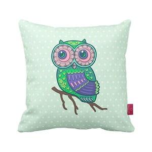 Poduszka Green Owl, 43x43 cm