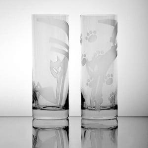 Szklanki Koty II, 340 ml, 2 szt.