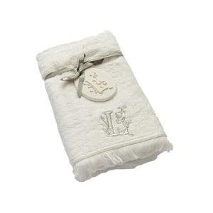 Ręcznik z inicjałem L, 50x90 cm