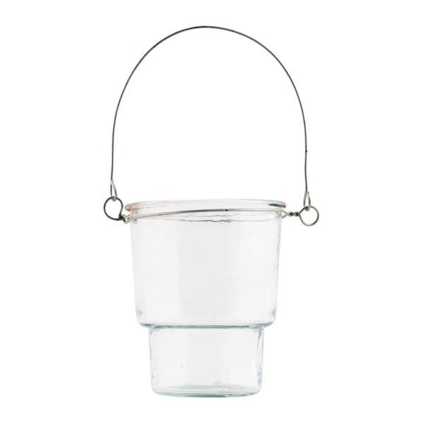 Biały świecznik House Doctor Tealight, 20cm