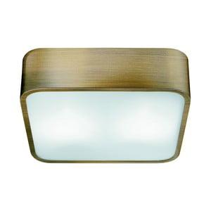 Lampa sufitowa Searchlight Flush, 25 cm, złota