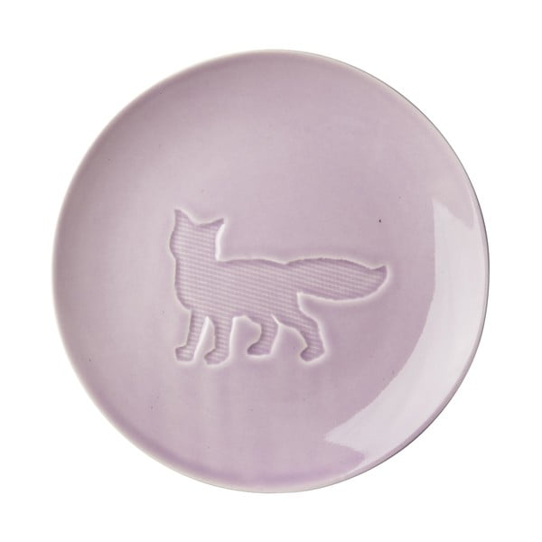Ceramiczny talerz Animal Lavender
