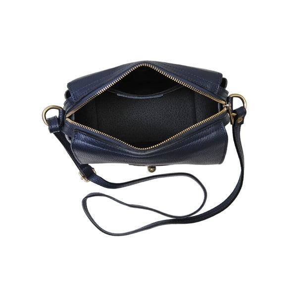 Niebieska torebka skórzana Andrea Cardone Alessio