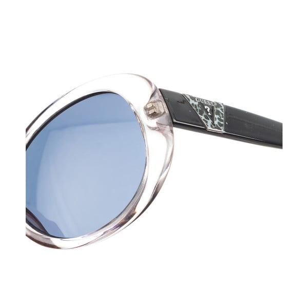 Dziecięce okulary przeciwsłoneczne Guess 125 Transparent Black