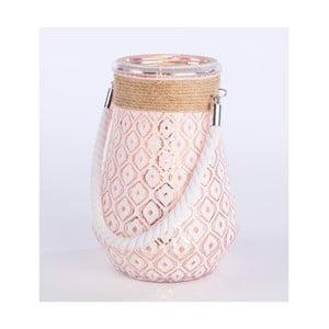 Lampion Gold Jar, 20 cm