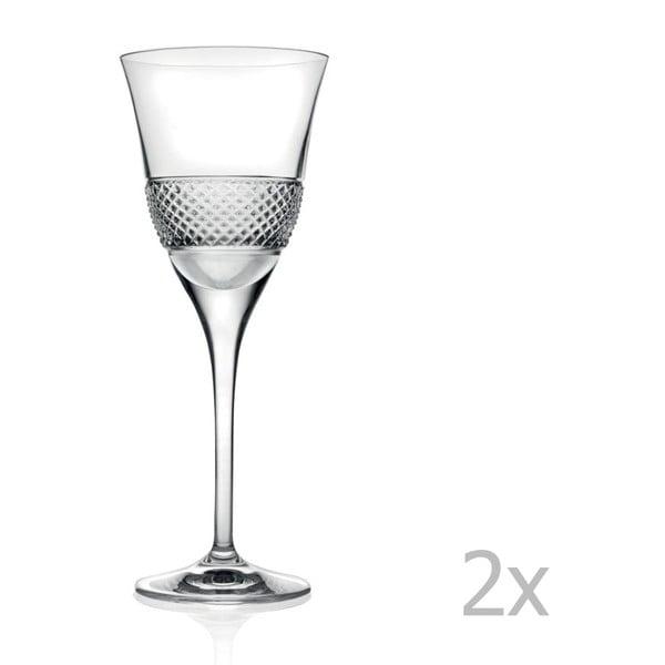 Zestaw 2 kieliszków do wina RCR Cristalleria Italiana Giacomo