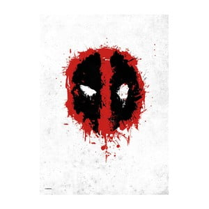 Plakat z blachy Deadpool Merc with a Mouth - Spray Tag