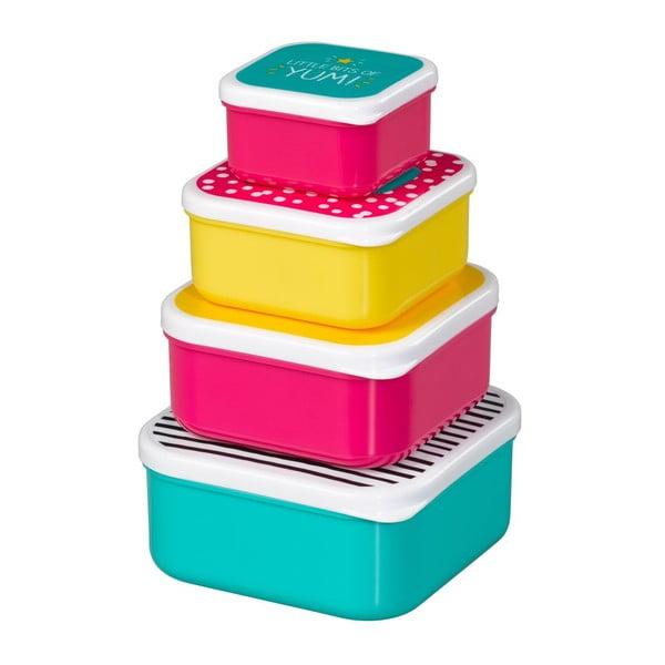 Zestaw 4 pudełek Happy Jackson Healthy Snacks