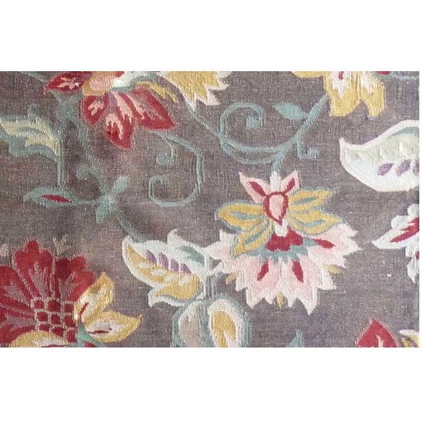 Ręcznie tkany dywan Kilim Flowers 162, 160x230 cm