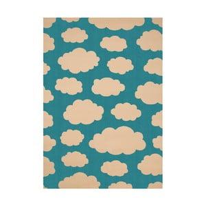 Turkusowy dywan dziecięcy Hanse Home Cloud, 140x200cm