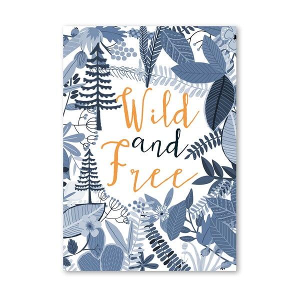Plakat (projekt: Mia Charro) - Wild