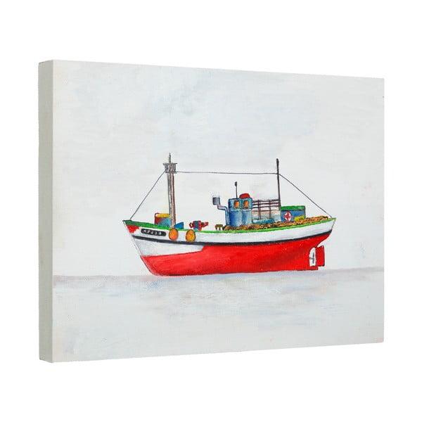 Obraz Artesania Esteban Ferrer Nautical Fishing Boat