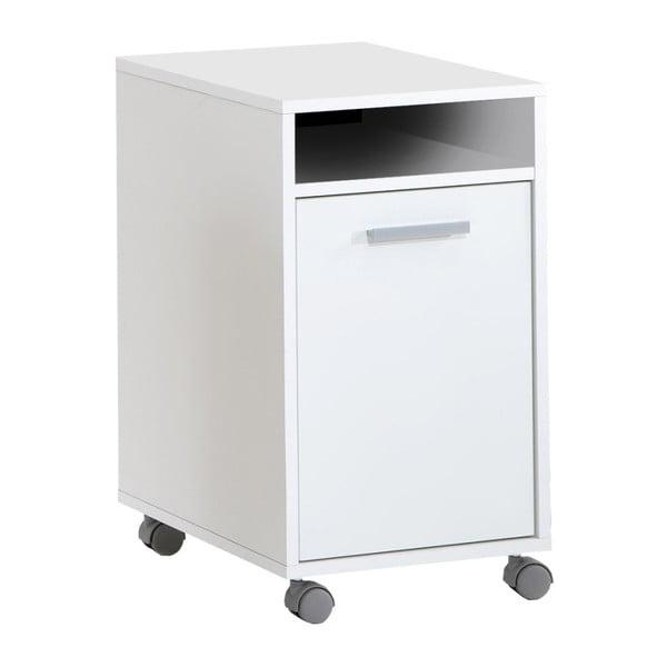 Biała szafka biurowa 13Casa Laurenz