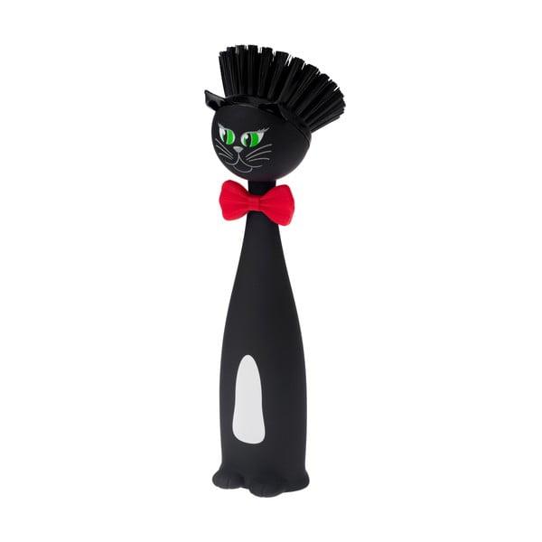 Szczotka do naczyń Vigar Black Cat