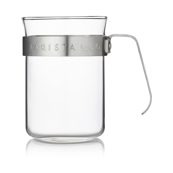 Naczynie do kawy Barista 220 ml, stal nierdzewna, 2 szt.