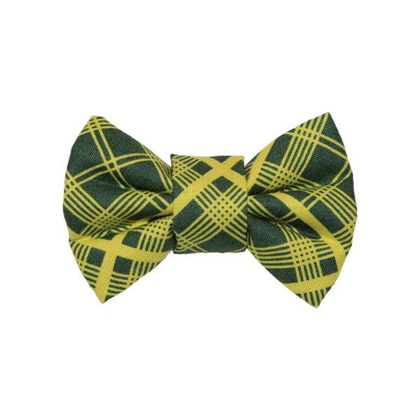 Mucha dla psa Funky Dog Bow Ties, roz. S, w zieloną kratkę