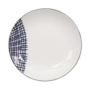 Talerz porcelanowy Tokyo Design Studio Le Bleu De Nimes, ⌀ 16,5 cm