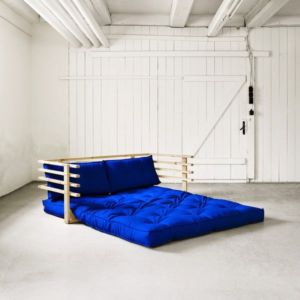 Sofa rozkładana dwuosobowa Karup Funk Natural/Royal