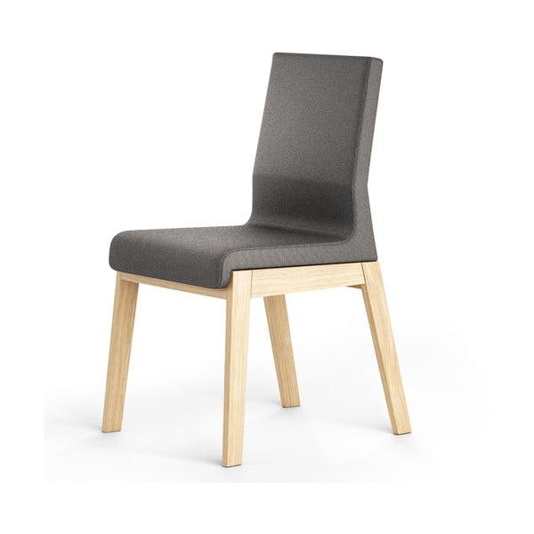 Czarne krzesło dębowe Absynth Kyla