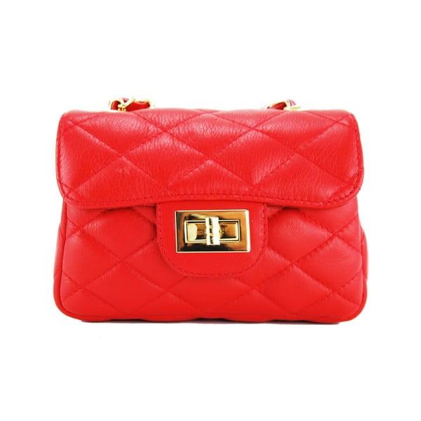 Skórzana torebka Custina Rosso