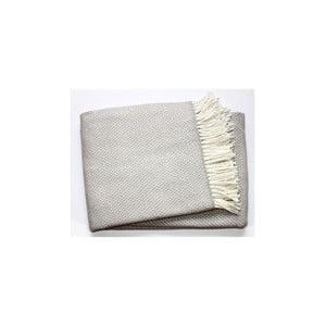 Szary koc Euromant  Zen Plaid, 140x180 cm
