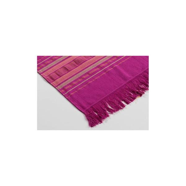 Ręcznik hamam Cotton Loincloth Violet Two, 75x170 cm