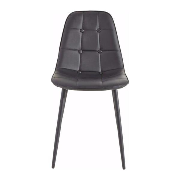Zestaw 2 czarnych krzeseł Støraa Lamar