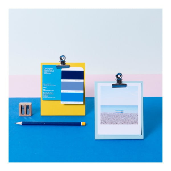 Biała ramka na zdjęcia Clipboard Small