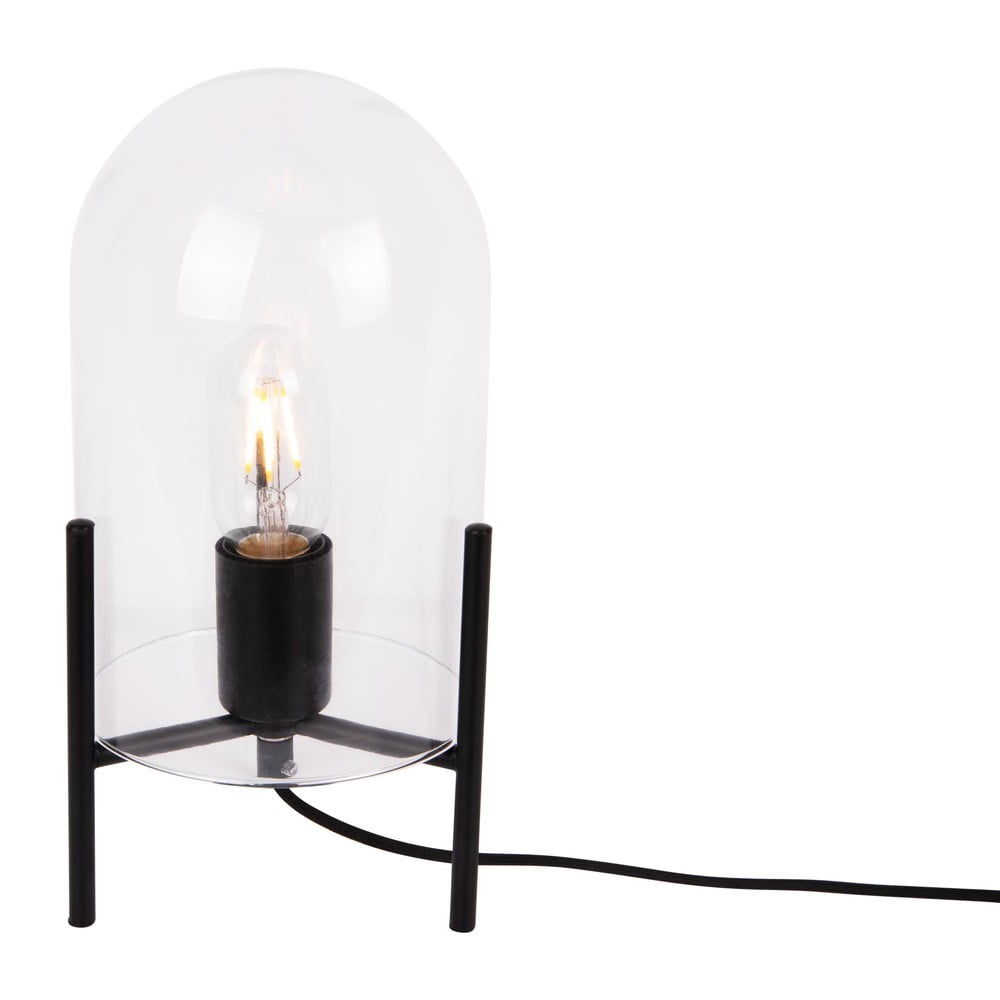 Szklana lampa stołowa Leitmotiv Glass Bell