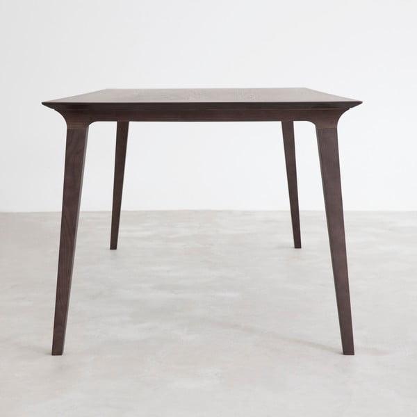 Stół Lau 90x180 cm, barwiony jesion