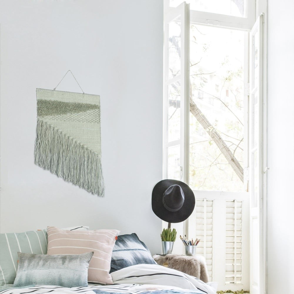 jasnoniebieski r cznie robiony gobelin hf living polly 45x70 cm bonami. Black Bedroom Furniture Sets. Home Design Ideas