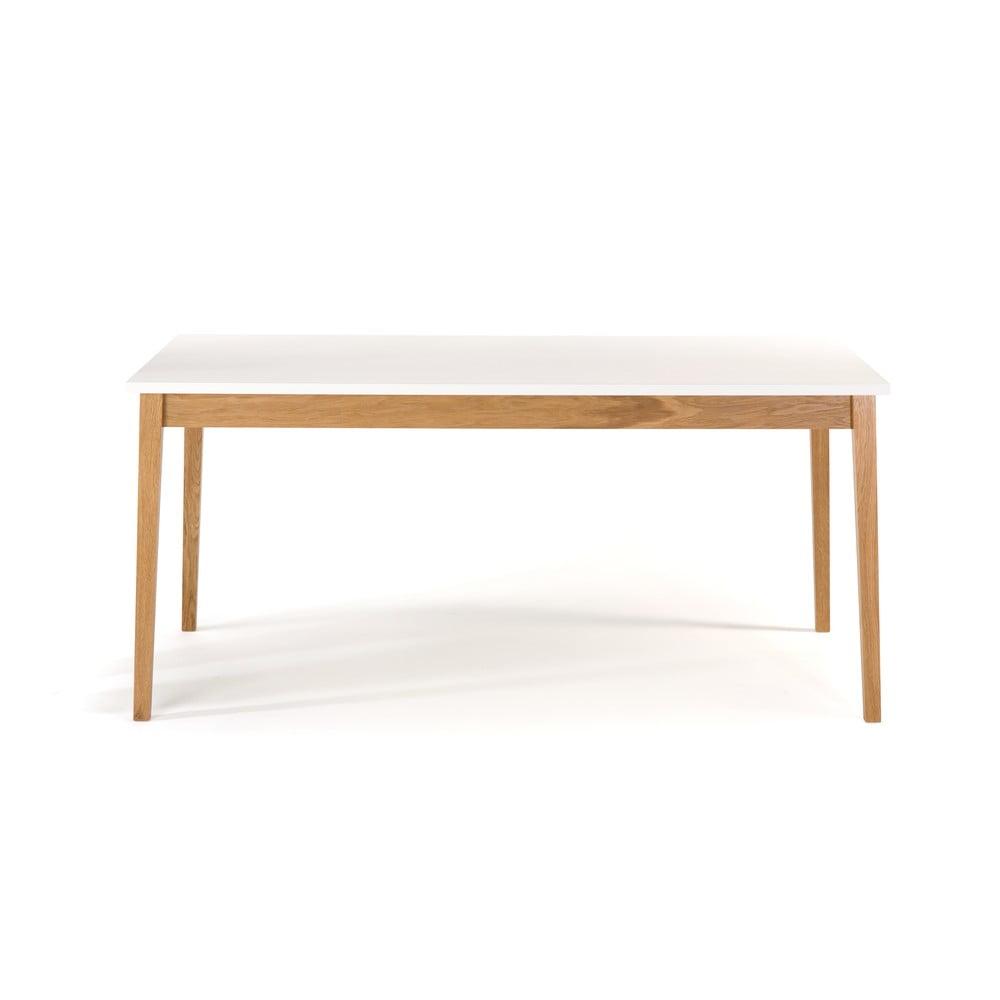 Stół do jadalni Woodman Blanco, 165x90 cm