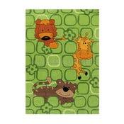 Ręcznie tkany dywan Sam Zoo, 110x160 cm