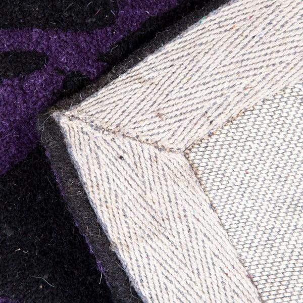 Wełniany dywan Rosono Lilac, 170x240 cm