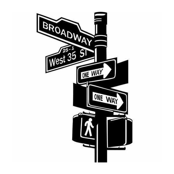 Naklejka Ambiance Broadway